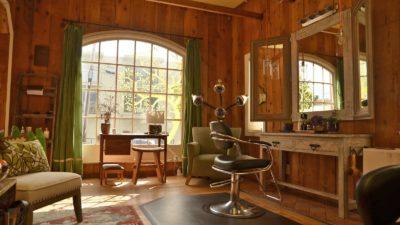 Interior of Ashira Salon in Albany, CA